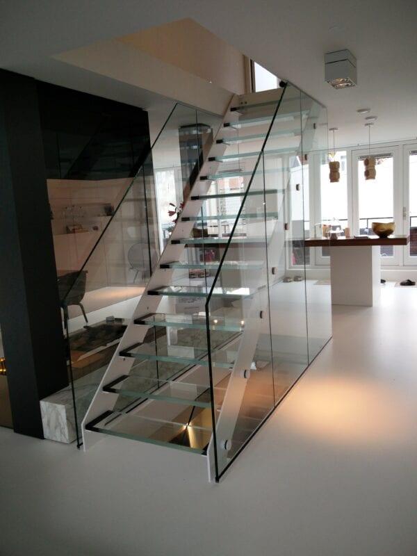 glazen trappen